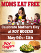 Treat Mom to a Meal at Roy Rogers® Restaurants