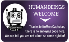 Human Beings Get Welcomed, Bots Are Sent Away