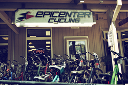 Famous Epicenter Cycling Shop in Aptos CA
