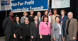 Not-for-Profit Summit XII Committee Members with keynote Fran Barrett, Chair Elect of UWWP Scott Morrison, and CEO of Westchester Community Foundation Catherine Marsh (first row, third through fifth).