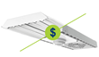 Cost Difference Between LED & Fluorescent Lighting Shrinks...