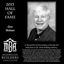 Don Belman, Belman Homes, Waukesha and Milwaukee New Home Builder