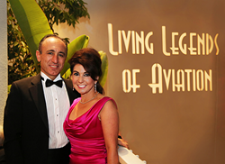"SNC Owners, Fatih and Eren Ozmen, were inducted as ""Living Legends of Aviation"" in 2013."