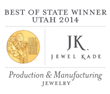 Jewel Kade Awarded Best of State – Production & Manufacturing - Jewelry