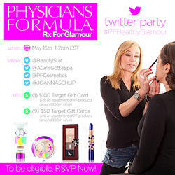 BeautyStat.com physicians formula cosmetics twitter party invite