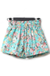 oasap shorts, fashion shorts, print shorts, high waist shorts