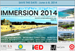IMMERSION 2014 official poster