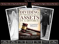 For more information, visit Divorcepensionrights.com