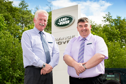 Jim Proctor, Sales Controller and George Mackie, Sales Executive, Macrae & Dick