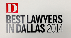 D Magazine's Best Lawyers in Dallas