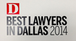 "Jeff Rasansky Named to D Magazine's 2014 ""Best Lawyers in..."