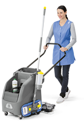 Karcher floor scrubber winner of 2014 Innovation Award at ISSA/INTERCLEAN 2014 in Amsterdam