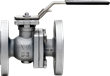 stainless steel ball valve, carbon steel ball valve, industrial valve, flanged valve, automated valve, actuator ready, direct mount valve