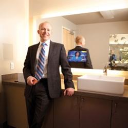 Jim Mischel at Electric Mirror Headquarters