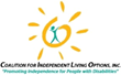The Coalition for Independent Living Options, Inc. (CILO) is a community-based, consumer driven, civil rights organization for individuals with disabilities which is dedicated to promoting independenc