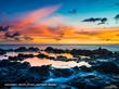 Poipu Beach Sunset.