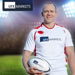 Mike Tindall Trains with UFXMarkets