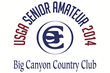 Big Canyon / 60th U.S. Senior Amateur Logo