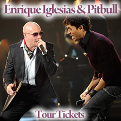Enrique Iglesias And Pittbull Tickets
