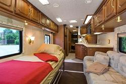 Medical Coach's Comfortable Interior