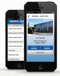 Lock Up Self Storage iPhone and Android App