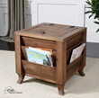 Uttermost Rimmon Wooden Side Table 24343