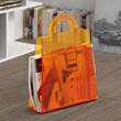 Zuo Modern Purse Magazine Rack Transparent Orange 401164