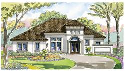 Monaco Custom Home Model in Parrish, FL
