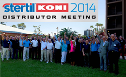 Nearly 100 Attendees at the 18th Annual Stertil-Koni Distributor Meeting, Held in Orlando, FL