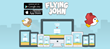FlappyBird.com: meet Flying John - The Flappy Adventure for iOS and Android