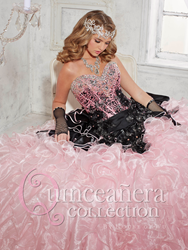 Quinceañera Collection Style 26776 from the new Fall 2014 Collection. Don't settle for just feeling like a princess, reign supreme on your day by looking like royalty.