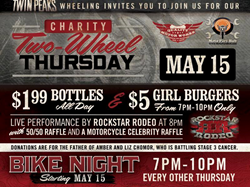 Motorcycle Bike Nights at Twin Peaks
