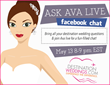 "DestinationWeddings.com Hosts Live ""Ask Ava"" Chat For Destination..."