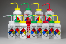 GHS Labeled Wash Bottles from Bel-Art Products