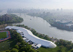 Frieze Art Fair NY Aerial