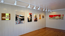 """North Fork Modernism"" Installation view. Photo: Jeff Heatley, AAQ East End"