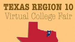 Texas Region 10 Virtual College Fair at www.CollegeWeekLive.com