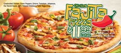 Pizza Boli's New Chicken Fajita Pizza
