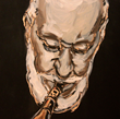 """Blue Notes Collection by Artist Thomas Cale; """"Sonny"""""""