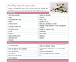 Printable Wedding Day Checklist Unveiled as part of the New Line of Wedding Items at ChecklistTemplate.net
