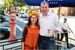 Dolce Vite Chocolatto Founder Christina Summers with Mayor de Blasio
