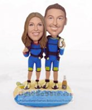 SCUBA DIVING WEDDING CAKE TOPPERS