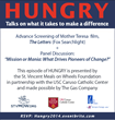 "St. Vincent Meals On Wheels Launches New Talk Series - ""HUNGRY: Talks..."