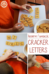 alphabet crackers