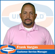 Uniweld's Customer Service Manager, Frank Vargas, Leads...