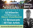 Several New Features Added to the Traverse City Wine & Art...