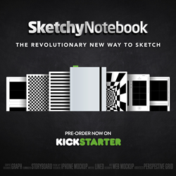 SketchyNotebook on Kickstarter