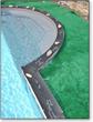 Stress-free pool coping templating