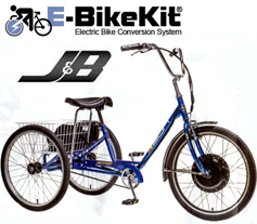 E-TrikeKit on SUN brand adult tricycle.