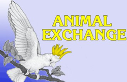 Animal exchange logo